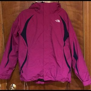 The North Face Pink Hyvent 3-in-1 Jacket
